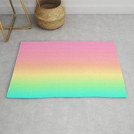Pastel Rainbow 4 Rug