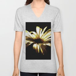 Summer Shadows On Flowers Unisex V-Neck