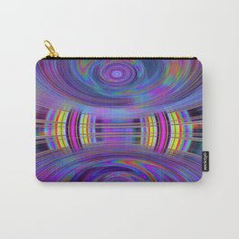 Dynamic fractal abstract in rainbow colors Carry-All Pouch