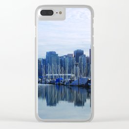 Downtown Vancouver Clear iPhone Case