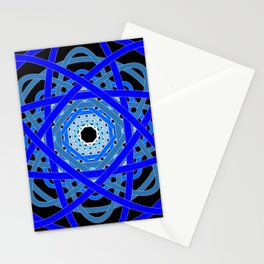 Not Quite Tangled Inside Out (Black Light Version) Stationery Cards