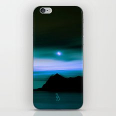 Moonlit Water color iPhone & iPod Skin