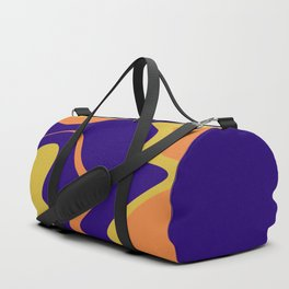 KNICK - bright abstract design orange yellow blue Duffle Bag
