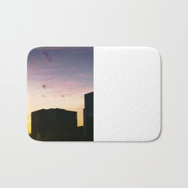 Chicago Windy City Sunset Bath Mat