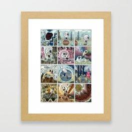 Teat~Pee Framed Art Print