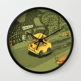 S-Car-Go! Wall Clock
