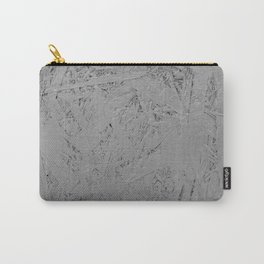 grey painted OSB Carry-All Pouch