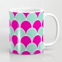 Pink and Mint Art Deco Coffee Mug