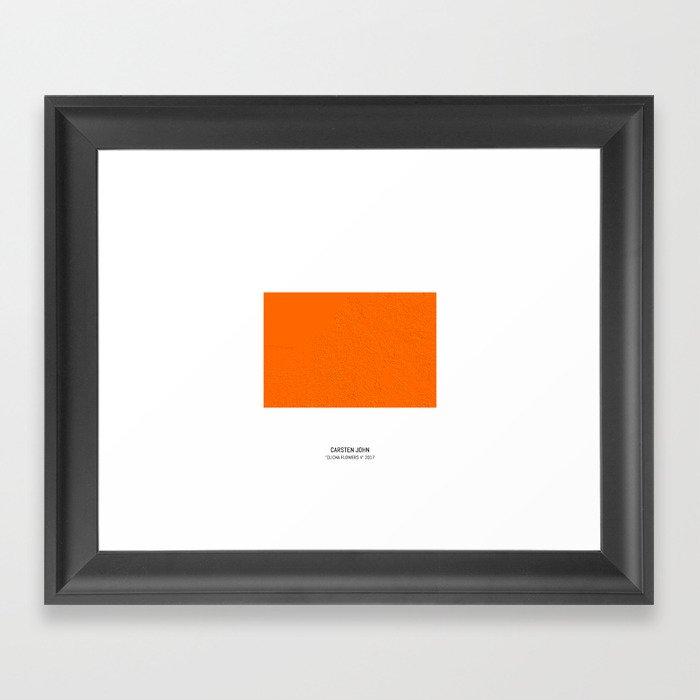 CLICHA FLOWERS V Framed Art Print