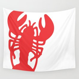 Red Lobster Wall Tapestry