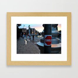 In Real Life - Droopy Framed Art Print