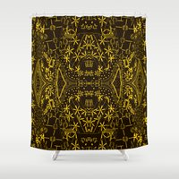 japan Shower Curtains featuring Japan  by MinaSparklina