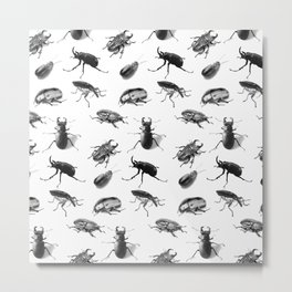 Entomophobia Metal Print