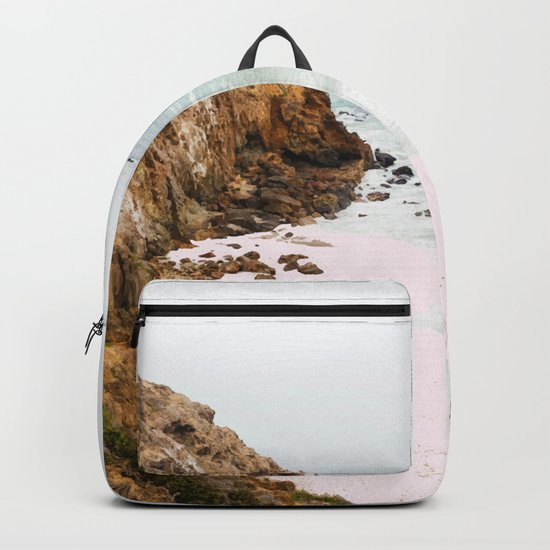 Pink Trails #society6 #decor #buyart Backpack
