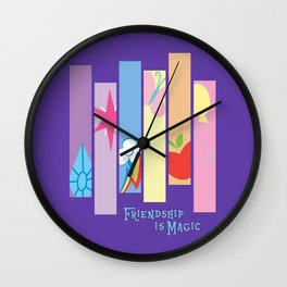 Minimal Magic Wall Clock