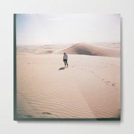 Sand Dunes - Haley Metal Print