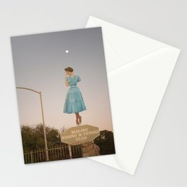 Reaching Out Towards Your Man Stationery Cards