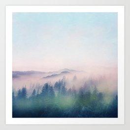 Pastel vibes 62 Art Print