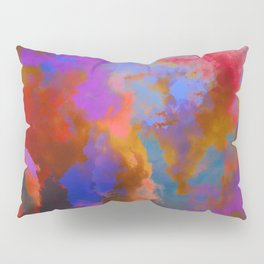 Colorful clouds in the sky V Pillow Sham