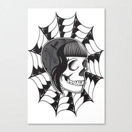 Sweetheart (White) Canvas Print