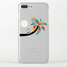 Amazing Vocation Clear iPhone Case