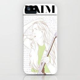 Alana Haim iPhone Case