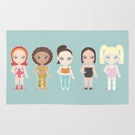 Spice Girls Rug