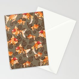 Fancy Oranda Goldfish Stationery Cards