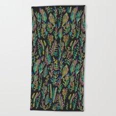 color garden Beach Towel