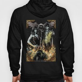 SANDMAN - MORPHEUS AND DEATH Hoody