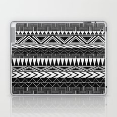 Tribal Monochrome. Laptop & iPad Skin