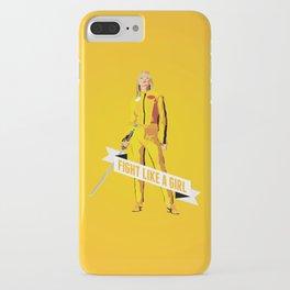 Fight Like a Girl: Beatrix Kiddo iPhone Case