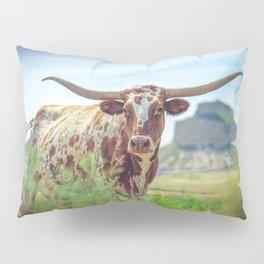 Longhorn In Nebraska Pillow Sham