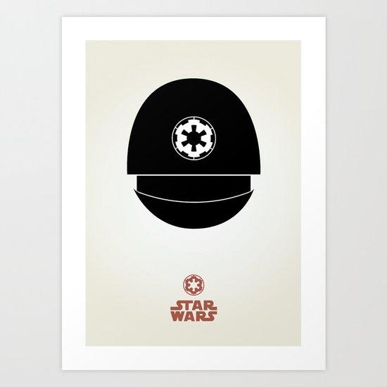 Imperial Gunner Art Print