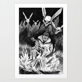 Hunter Beware Art Print