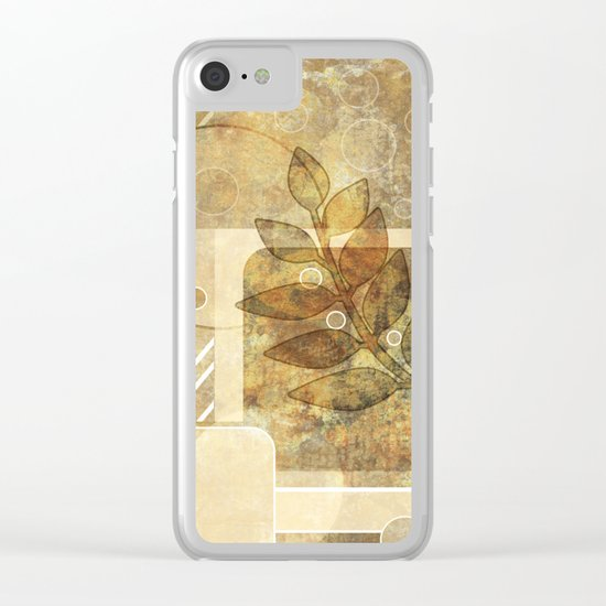 The old map . Grunge . Retro . Vintage . Clear iPhone Case