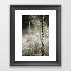 Autumn Sepia Framed Art Print