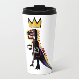 Basquiat Dinosaur - Jean Michel Basquiat Travel Mug