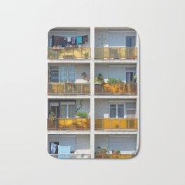 Apartment balcony Bath Mat