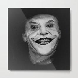 Jack The Joker Metal Print