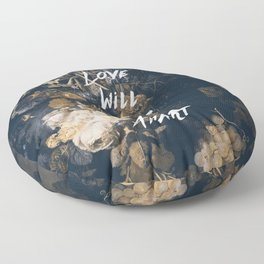 Love will tear us apart Floor Pillow