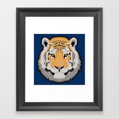 The Wild Ones: Siberian Tiger Framed Art Print