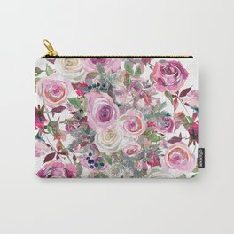 Bouquet of rose - wreath Carry-All Pouch