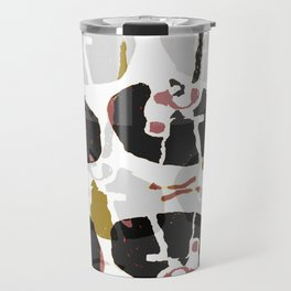 Abstract Mechanical Travel Mug