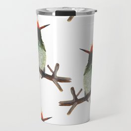 Rufous-crested Coquette Travel Mug