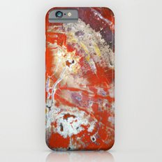 Red Wood Slim Case iPhone 6s