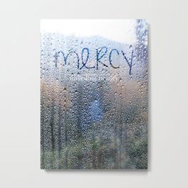 Unveiling Beauty - Mercy Metal Print