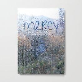 Unveiling Beauty - Mercy Metal Print