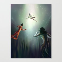 Dante the Uncursable Canvas Print