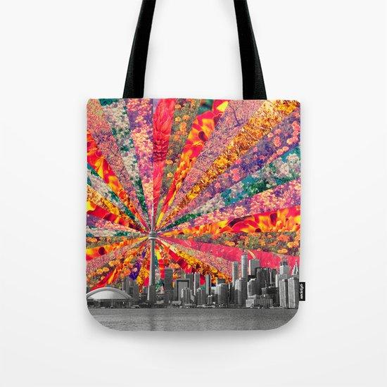 Blooming Toronto Tote Bag